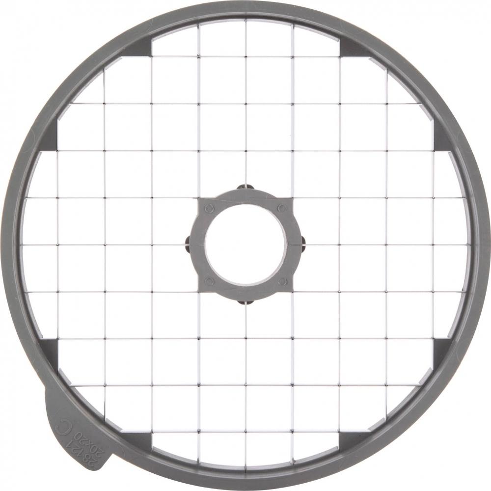 Диск-кубики Robot Coupe 28114 (20x20x20 мм) - 4